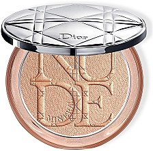 Духи, Парфюмерия, косметика Осветляющая пудра для лица - Dior Diorskin Mineral Nude Luminizer Powder (тестер)