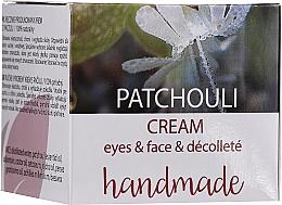 """Парфумерія, косметика Крем для обличчя й декольте """"Пачулі"""" - Hristina Cosmetics Handmade Patchouli Eyes & Face & Decollete Cream"""