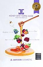 Духи, Парфюмерия, косметика Маска целлюлозная для упругости кожи с фиолетовым комплексом - Jayjun Honey Dew Purple Mask