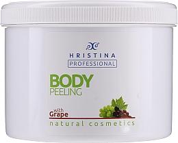 "Духи, Парфюмерия, косметика Пилинг для тела ""Виноград"" - Hristina Professional 100% Natural Grape Body Peeling"