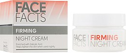 Духи, Парфюмерия, косметика Ночной крем для лица - Face Facts Firming Night Cream