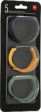 Духи, Парфюмерия, косметика Набор ремешков для Mi Smart Band 5, Blue Yellow Green - Xiaomi