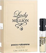Духи, Парфюмерия, косметика Paco Rabanne Lady Million - Парфюмированная вода (пробник)