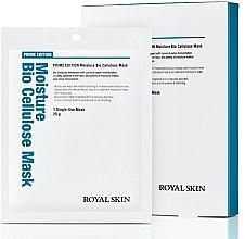 Духи, Парфюмерия, косметика Био-целлюлозная увлажняющая маска для лица - Royal Skin Prime Edition Moisture Bio Cellulose Mask