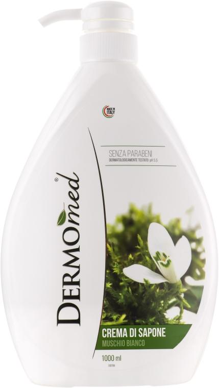 "Крем-мыло жидкое ""Белый мускус"" - Dermomed Cream Soap White Musk"