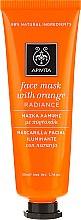 """Духи, Парфюмерия, косметика Маска для лица с апельсином """"Сияние"""" - Apivita Radiance Face Mask with Orange"""