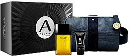 Духи, Парфюмерия, косметика Azzaro Pour Homme - Набор (edt/50ml + sh/g/50ml + pounch)