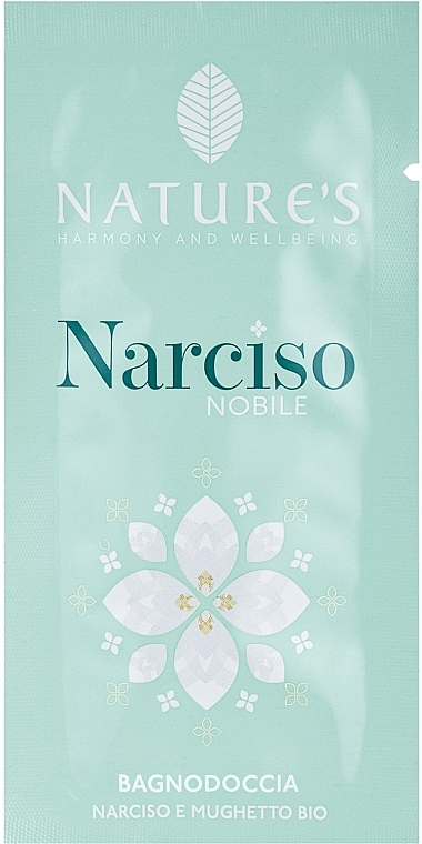 Nature's Narciso Noble - Гель для душа (пробник)