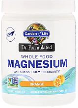 Духи, Парфюмерия, косметика Цельнопищевой магний с апельсиновым вкусом, порошок - Garden of Life Dr. Formulated