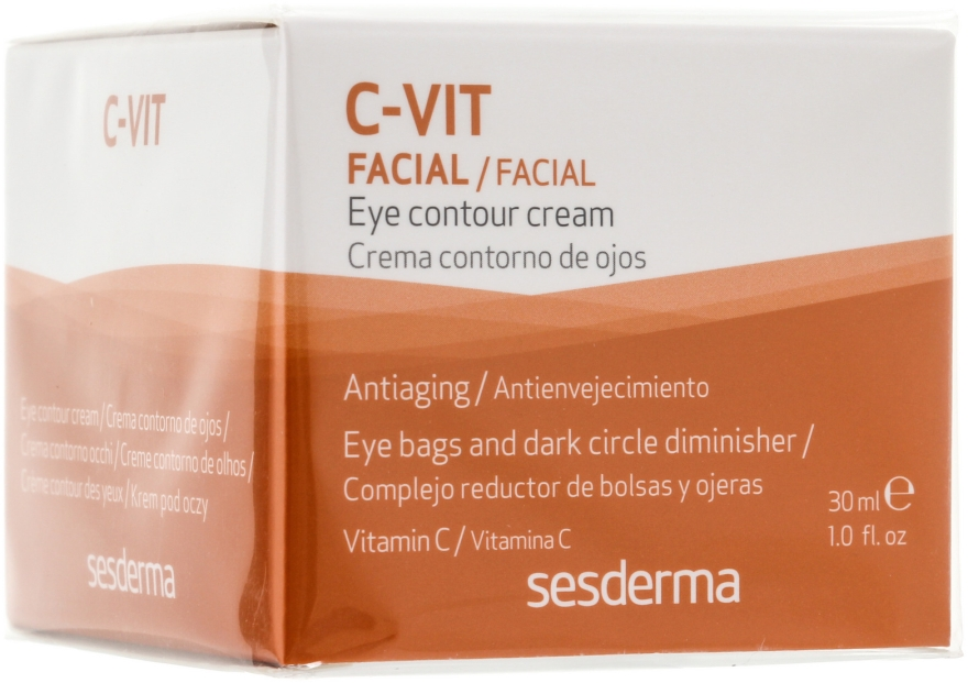 Крем для контура глаз - SesDerma Laboratories C-Vit Eye Contour Cream