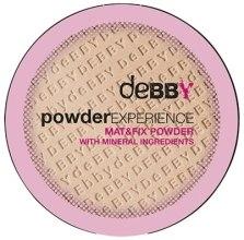 Духи, Парфюмерия, косметика Компактная пудра - Debby Powder Experience Compact Powder