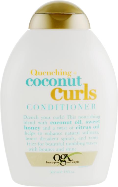 Кондиционер для вьющихся волос - OGX Coconut Curls Conditioner