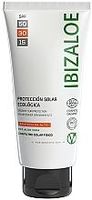 Духи, Парфюмерия, косметика Солнцезащитный крем - Ibizaloe Organic Sun Protection SPF 30