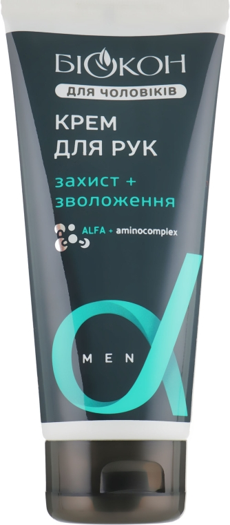 """Крем для рук для мужчин """"Защита и увлажнение"""" - Биокон"""