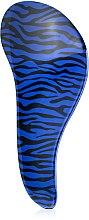 Расческа для волос с технологией Тангл Тизер, синяя - Christian — фото N3