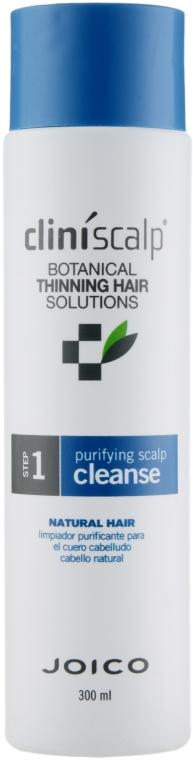 Шампунь очищающий для редеющих натуральных волос - Joico Cliniscalp Purifying Scalp Cleanse For Natural Hair