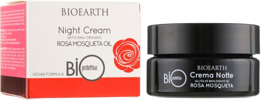 Ночной био-крем на основе масла роза москета - Bioearth Bioprotettiva Crema Notte