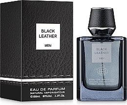 Духи, Парфюмерия, косметика Fragrance World Black Leather Men - Парфюмированная вода