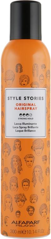 Лак для волос сильной фиксации - Alfaparf Milano Style Stories Original Hairspray