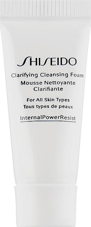 Очищающая пенка для лица - Shiseido Clarifying Cleansing Foam (мини)