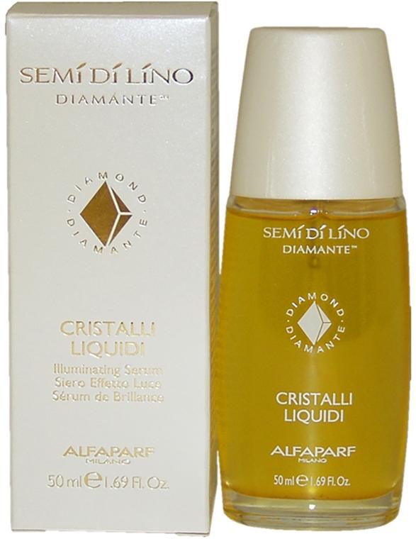 Масло для кончиков волос - Alfaparf Cristalli Liquidi