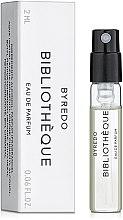 Byredo Bibliotheque - Парфюмированная вода (пробник) — фото N1