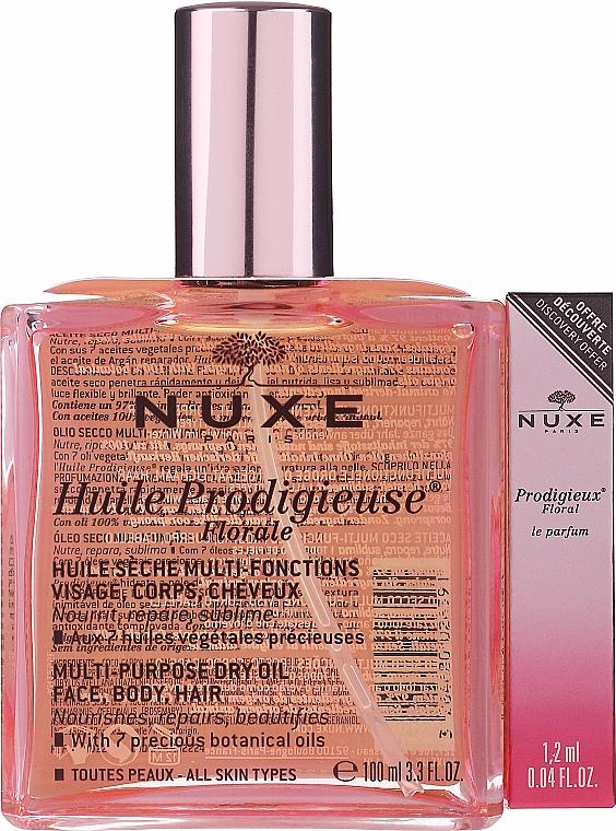 Nuxe Huile Prodigieuse Florale - Набор (parfum/1.2ml + b/oil/100ml)