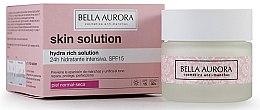 Духи, Парфюмерия, косметика Увлажняющий крем для лица - Bella Aurora Crema Hydra Rich Solution 24h