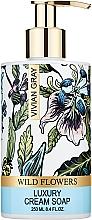 Духи, Парфюмерия, косметика Vivian Gray Wild Flowers - Жидкое крем-мыло для рук