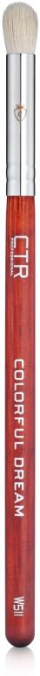Кисть для растушевки теней из ворса козы, W511 - CTR
