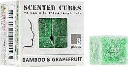 """Духи, Парфюмерия, косметика Аромакубики """"Бамбук Грейпфрут"""" - Scented Cubes Bamboo & Grapefruit Candle"""