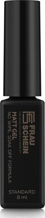 Финишное матовое покрытие для гель-лака - Frau Schein Standard Matt gel
