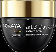 Духи, Парфюмерия, косметика Дневной крем для лица - Soraya Art&Diamonds Regenerating Day Cream 70+
