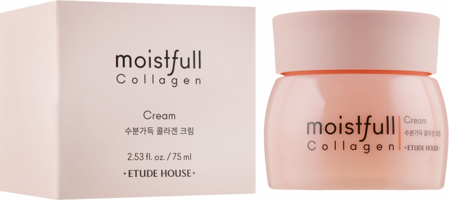 Крем для лица коллагеновый - Etude House Moistfull Collagen Cream
