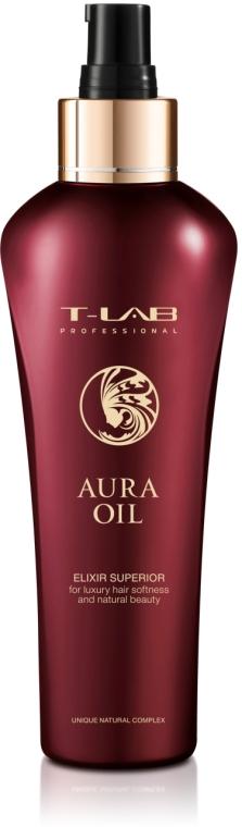 Эликсир для роскошной мягкости и естественной красоты - T-LAB Professional Aura Oil Elexir Superior