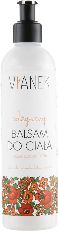 Питательный бальзам для тела - Vianek Body Balm  — фото N1