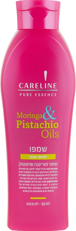 """Шампунь для окрашенных волос """"Моринга и Фисташковое масло"""" - Careline Pure Essence Shampoo Colored Hair"""
