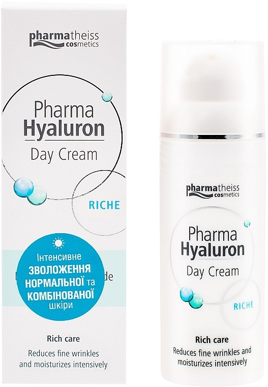 Крем дневной для лица riche - Pharma Hyaluron Pharmatheiss Cosmetics Day Cream Riche