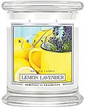 Духи, Парфюмерия, косметика Ароматическая свеча в банке - Kringle Candle Lemon Lavender