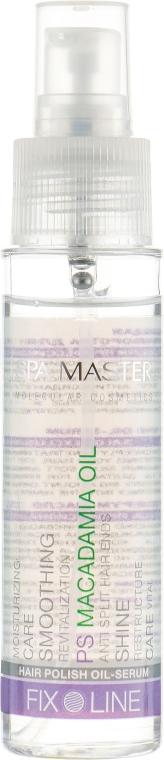 Полирующая сыворотка для волос с маслом макадамии - Spa Master Hair Polish Macadamia Oil
