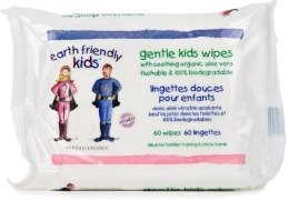 Духи, Парфюмерия, косметика Салфетки детские очищающие Еко - Earth Friendly Kids Eco Baby Wipes