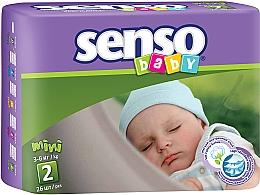 Духи, Парфюмерия, косметика Подгузники Mini 2 (3-6 кг), 26 шт - Senso Baby