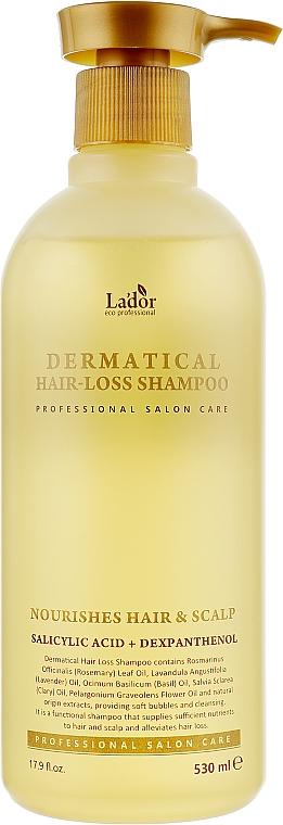 Бессульфатный шампунь против выпадения волос - La'dor Dermatical Hair-Loss Shampoo