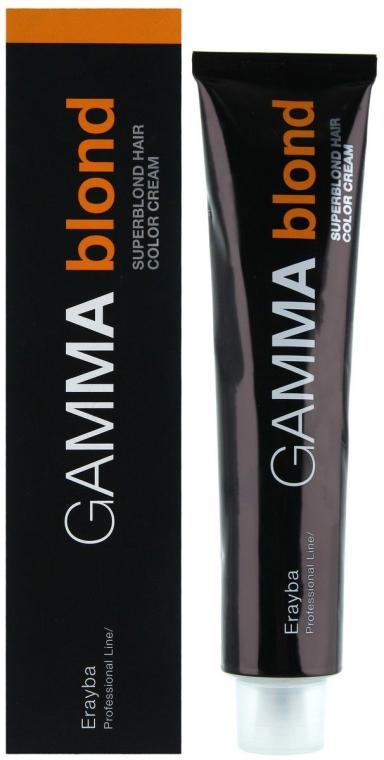 Краска для волос+осветление - Erayba Gamma Blond Superblond Haircolor Cream 1+2