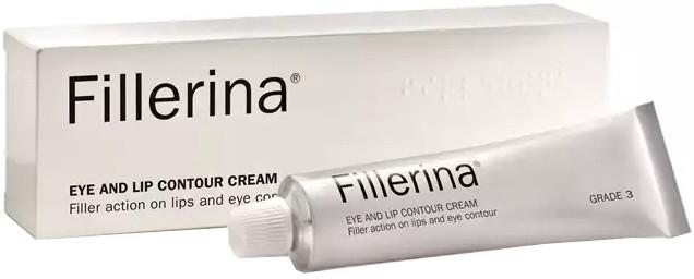 Крем для контура глаз и губ, уровень 3 - Fillerina Lip Cream and eye contour Cream gr.3