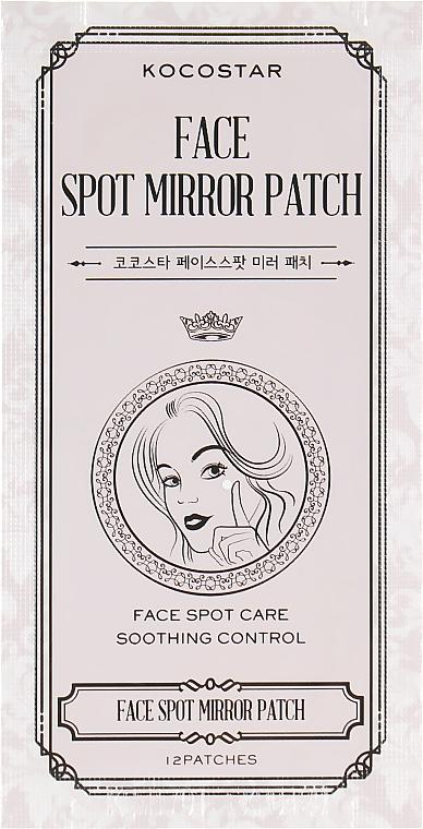 Комплект патчей от прыщей и воспалений на лице - Kocostar Face Spot Mirror Patch