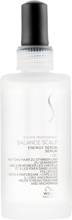 Энергетическая сыворотка против выпадения волос - Wella SP Balance Scalp Energy Serum