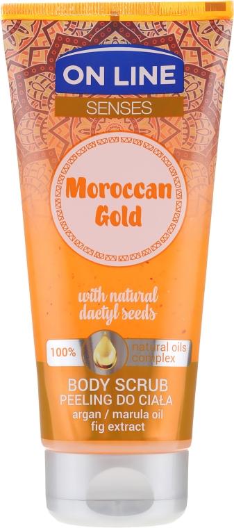 Скраб для тела - On Line Senses Body Scrub Moroccan Gold