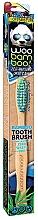 Духи, Парфюмерия, косметика Зубная щетка мягкая, синяя+зеленая - Woobamboo Toothbrush Zero Waste Adult Bamboo Soft Bristle