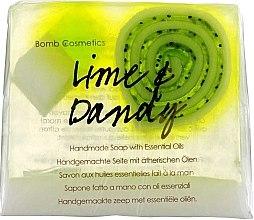 Духи, Парфюмерия, косметика Мыло - Bomb Cosmetics Lime & Dandy Soap Block